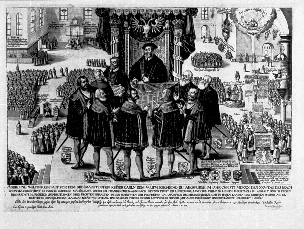 The Presentation of the Augsburg Confession